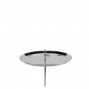 Advent candlestick, diameter 100mm, anthracite
